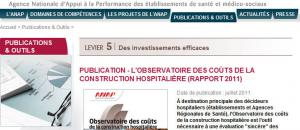 Publication de l'ANAP
