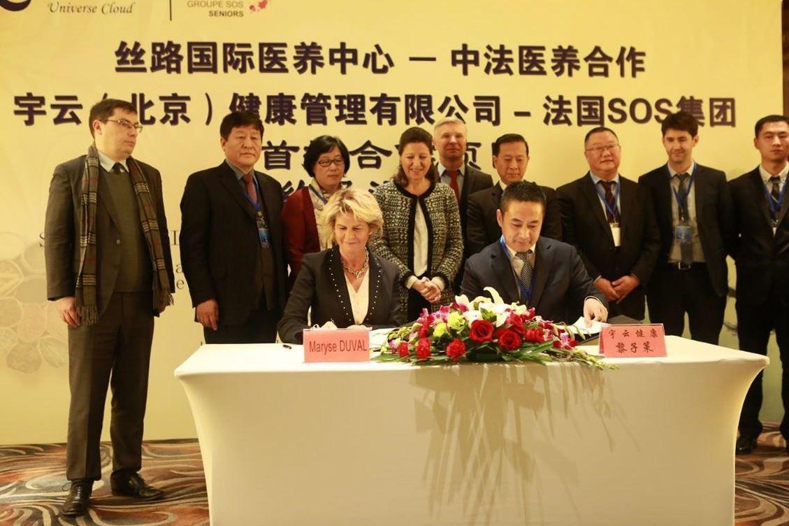 Le groupe SOS continue à tracer son sillon en Chine avec un nouveau partenariat