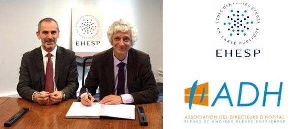 Formation Directeur Etablissement Santé : Partenariat ADH et EHESP