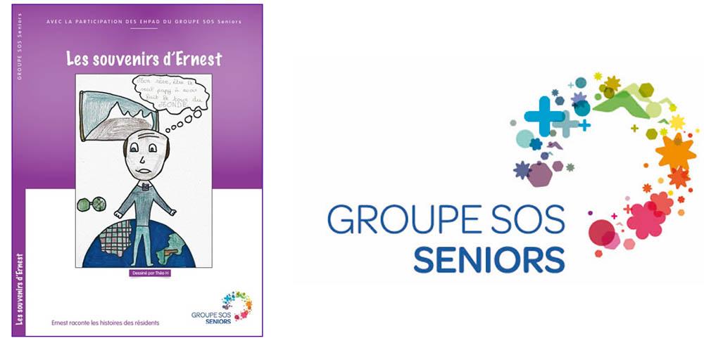 « Les souvenirs d'Ernest », un livre de souvenirs à l'initiative du groupe SOS