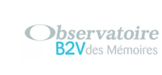 Bourse doctorale de l'Observatoire B2V des Mémoires - édition 2018