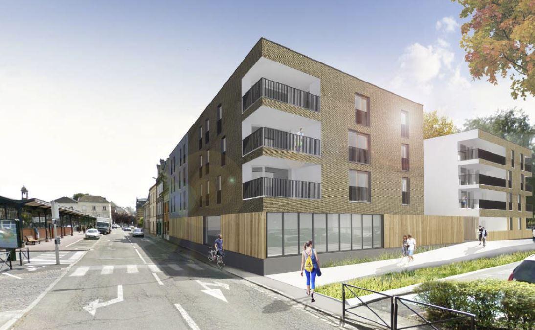 Plurial Novilia lance la construction d'une nouvelle résidence autonomie à Epernay, la Résidence Gallice opérée par le CCAS