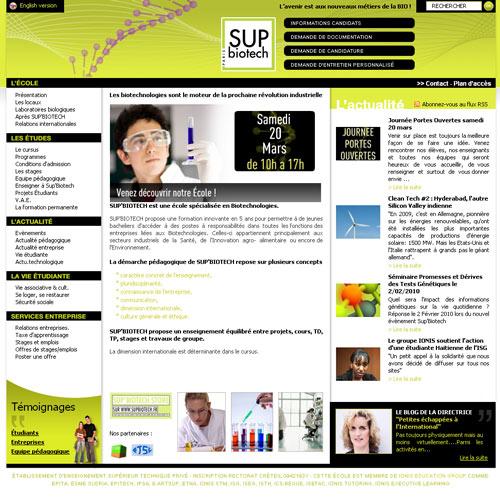 Sup'Biotech : pôle Cancer Campus