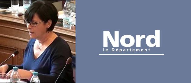 Interview de Geneviève Mannarino, Vice-Présidente du Département du Nord, en charge de l'autonomie